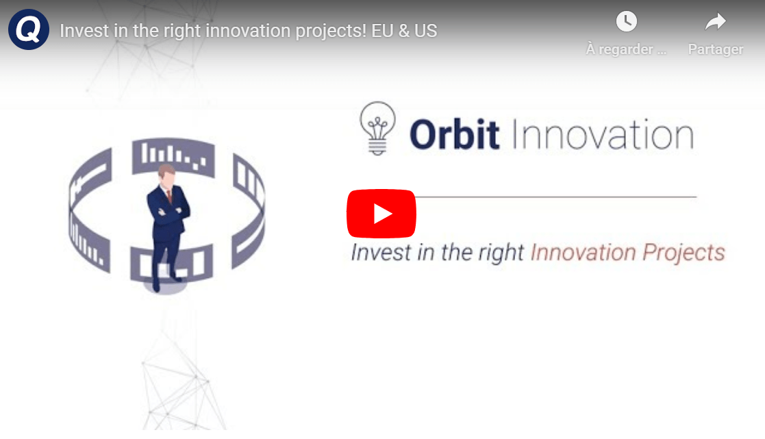 invest in the right innovation projects