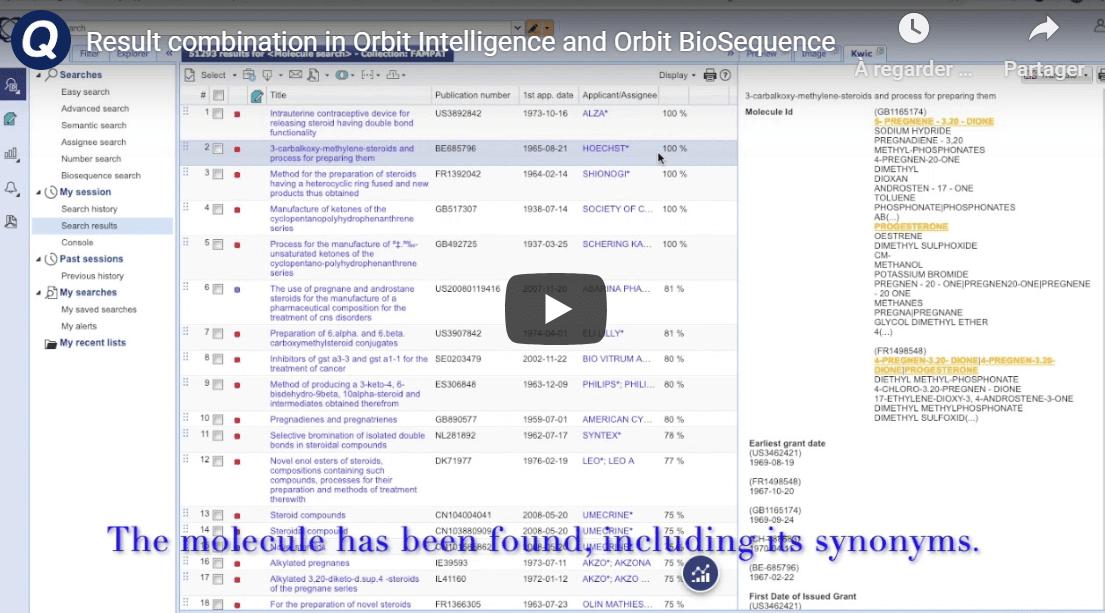 orbit intelligence biosequence video