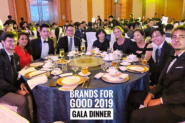 Brand for goods gala dinners