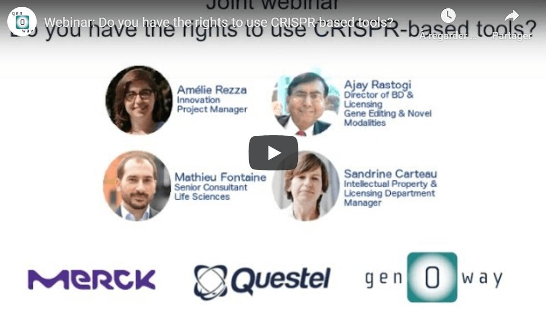 CRISPR based tools video