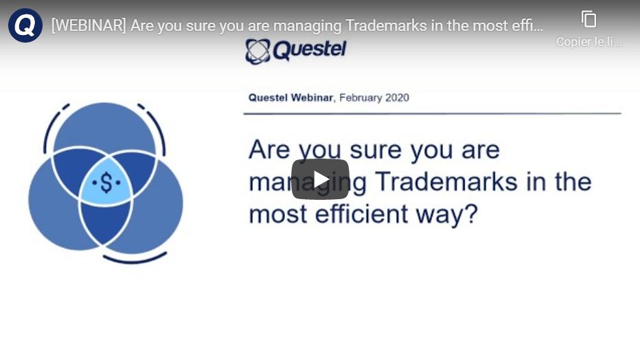 managing trademark video